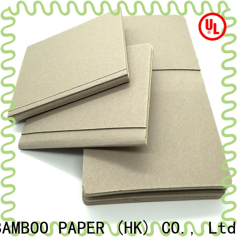 NEW BAMBOO PAPER grey clay coated kraft back buy now for T-shirt inserts