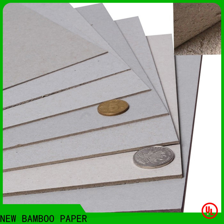 NEW BAMBOO PAPER cover types of paperboard for wholesale for packaging