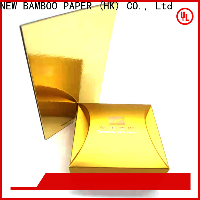 NEW BAMBOO PAPER top paper board manufacturer for business for stationery