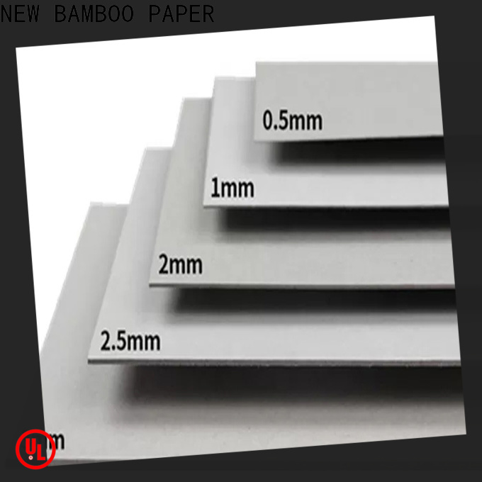NEW BAMBOO PAPER layer solidboard from manufacturer for photo frames