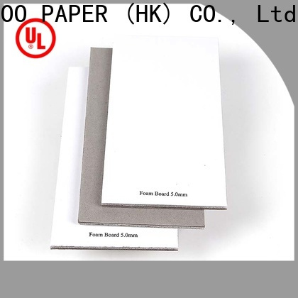 New 2 inch foam board cover factory price for shirt accessories