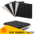 NEW BAMBOO PAPER top 24 photo paper roll free quote for notebook covers