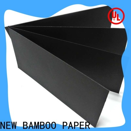 NEW BAMBOO PAPER New plain cardboard sheets free quote for silk printing