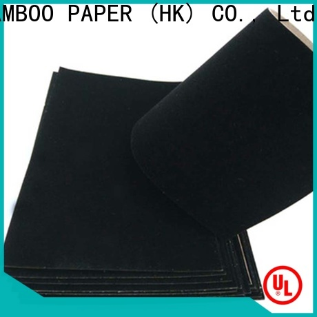 NEW BAMBOO PAPER latest large corrugated pads producer for packaging