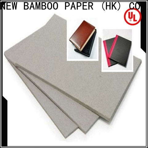 NEW BAMBOO PAPER best grey cardboard sheets for wholesale for stationery