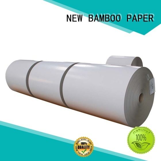 NEW BAMBOO PAPER duplex board paper bulk production for cloth boxes
