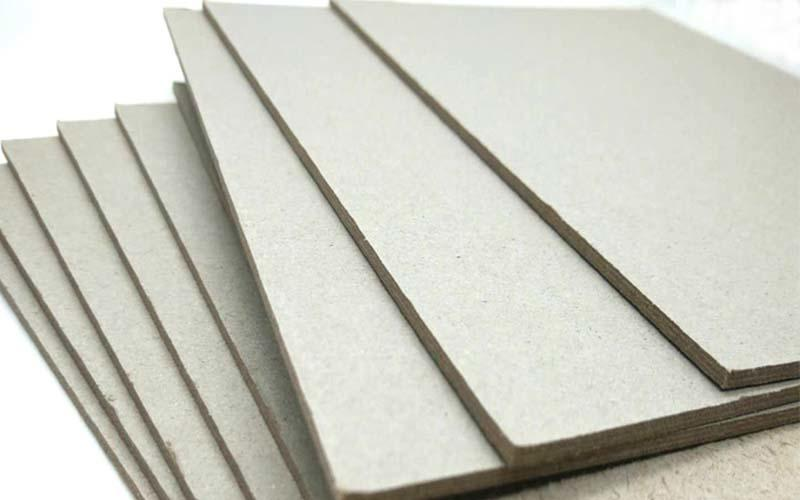 NEW BAMBOO PAPER solid grey board thickness factory price for boxes-1