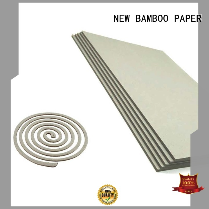 NEW BAMBOO PAPER anti grey paperboard for wholesale for hardcover books