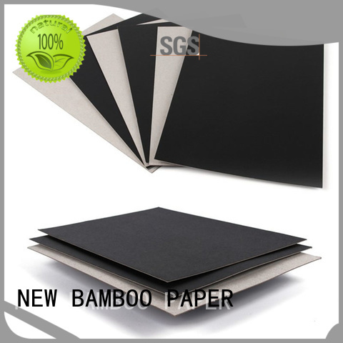 NEW BAMBOO PAPER nice Painted black board for packaging