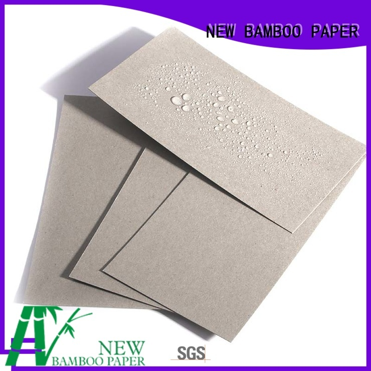 NEW BAMBOO PAPER coated pe coated kraft paper for packaging
