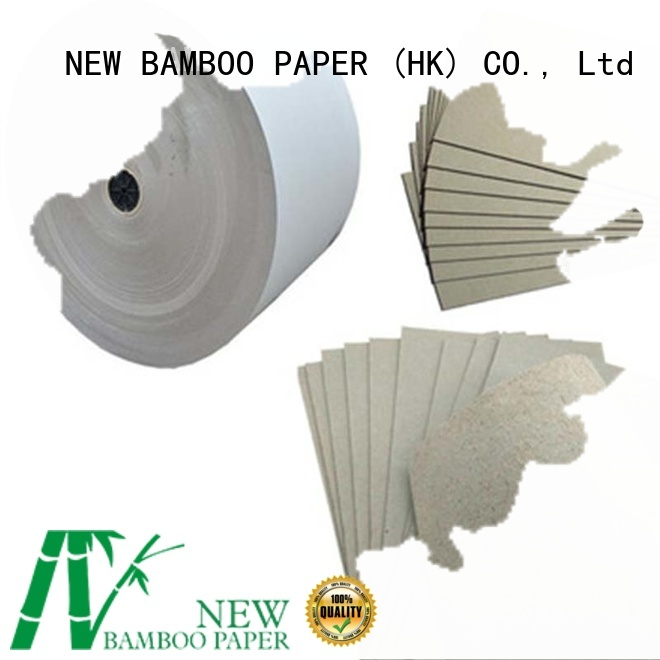 NEW BAMBOO PAPER fine- quality grey board sheets for wholesale for arch files