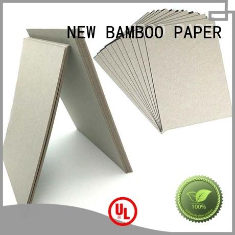 NEW BAMBOO PAPER calendar carton gris 2mm free design for packaging