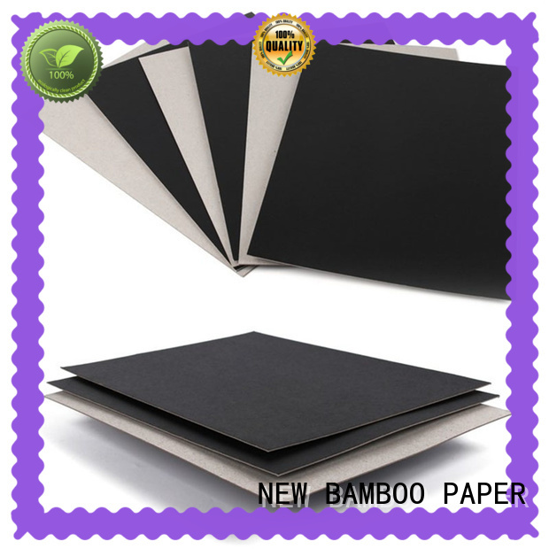 NEW BAMBOO PAPER inexpensive Painted black board factory for stationery