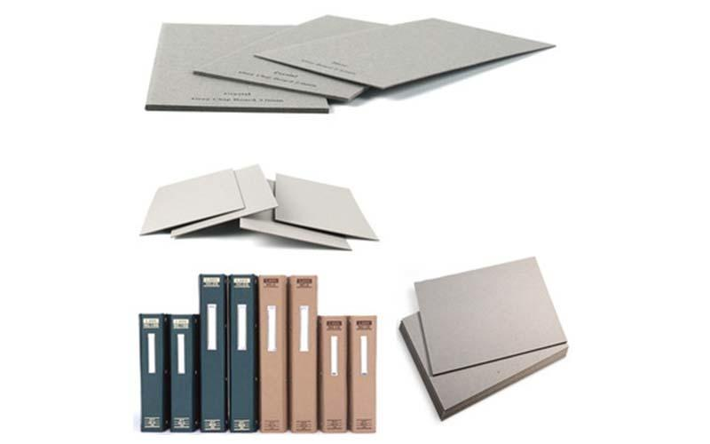 NEW BAMBOO PAPER solid grey board thickness factory price for boxes-3