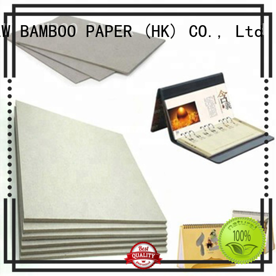 NEW BAMBOO PAPER resistance carton gris 2mm for shirt accessories