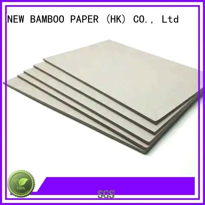 NEW BAMBOO PAPER superior gray chipboard factory price for T-shirt inserts