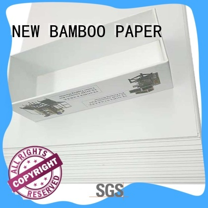 NEW BAMBOO PAPER Grey board with white back free design for gift box binding