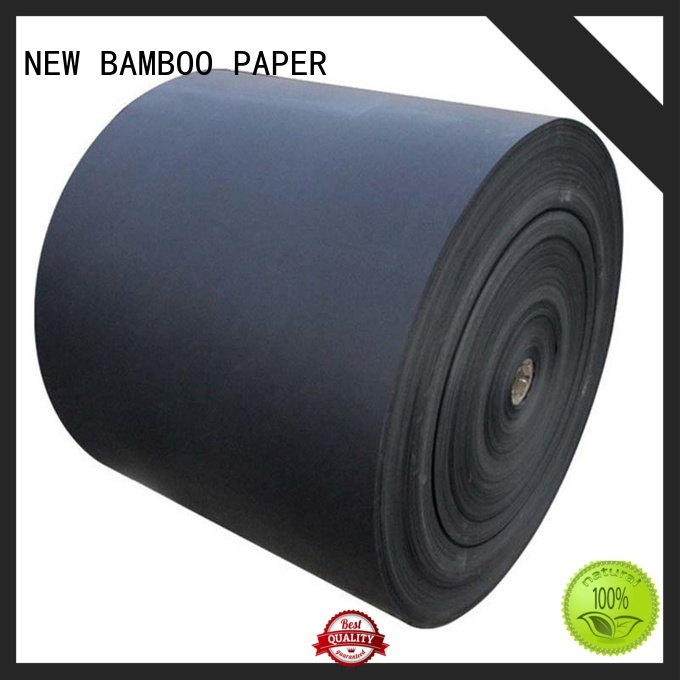 NEW BAMBOO PAPER bag black cardboard paper widely-use for hang tag