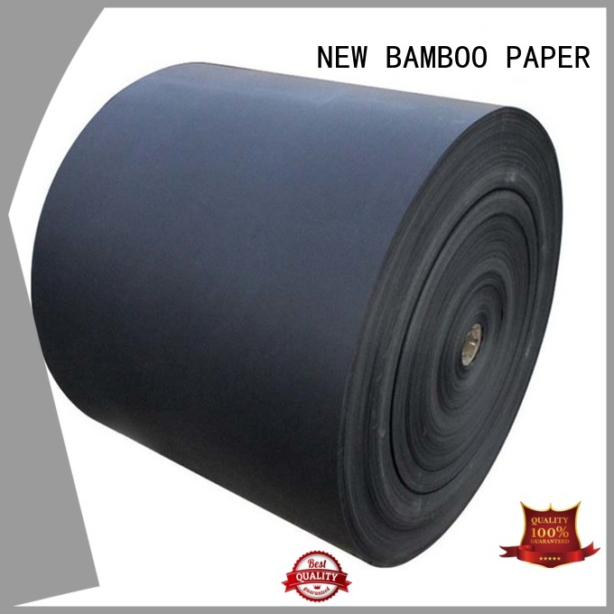 NEW BAMBOO PAPER new-arrival black cardboard paper order now for shopping bag
