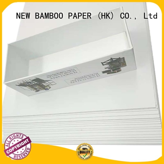 NEW BAMBOO PAPER back duplex board paper free design for crafts