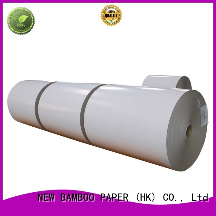 NEW BAMBOO PAPER best duplex board from manufacturer for cloth boxes