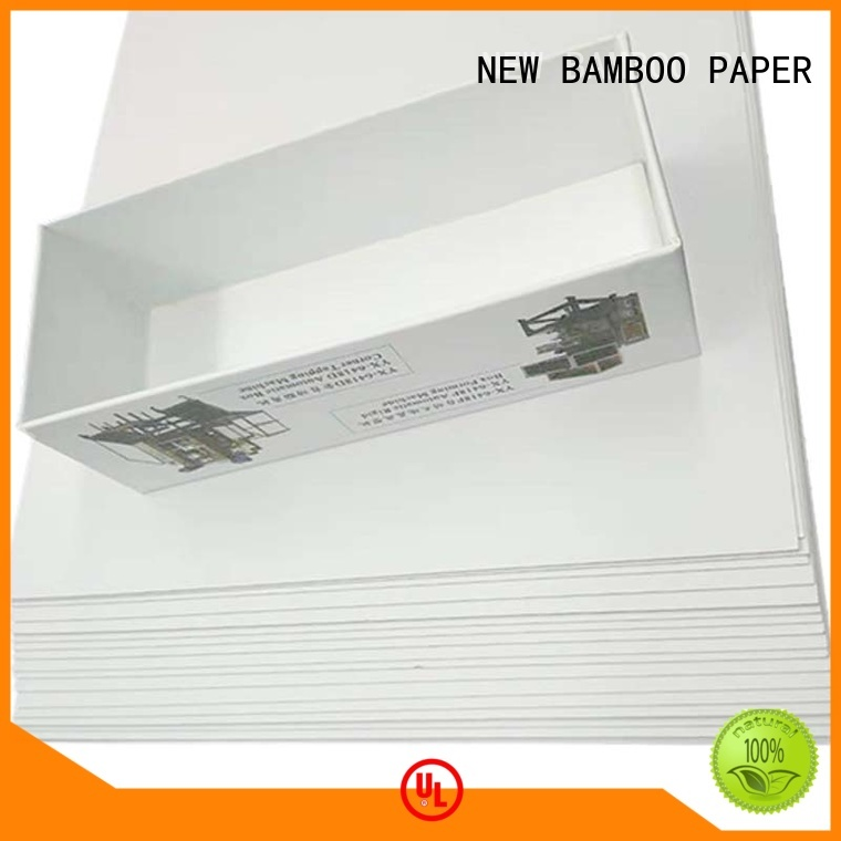 printing duplex board uses package for box packaging NEW BAMBOO PAPER