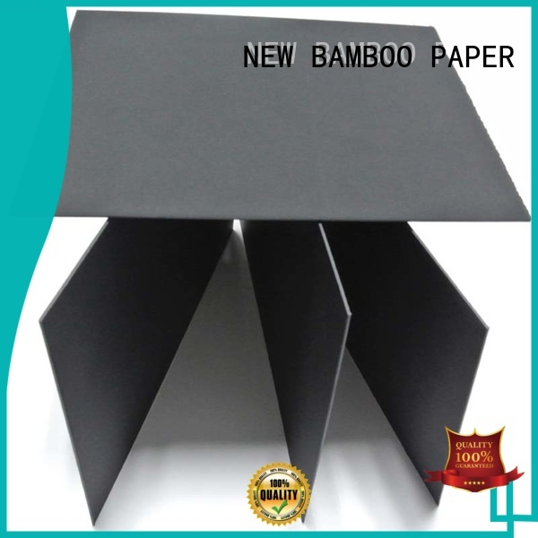 NEW BAMBOO PAPER industry-leading black paperboard buy now for silk printing
