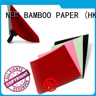 NEW BAMBOO PAPER jewelry velvet flocked paper wholesale for decoration