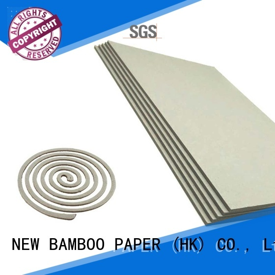 NEW BAMBOO PAPER material grey board sheets for arch files