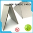 NEW BAMBOO PAPER coil gray chipboard from manufacturer for stationery