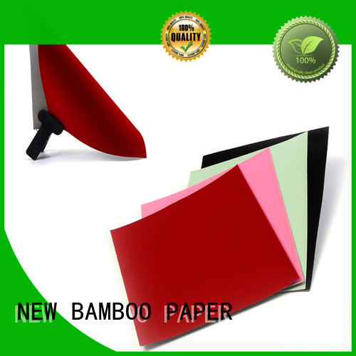 NEW BAMBOO PAPER nice velvet cardboard sheets widely-use for gift box binding