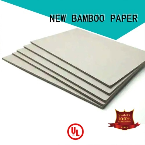 NEW BAMBOO PAPER excellent grey board sheets from manufacturer for desk calendars
