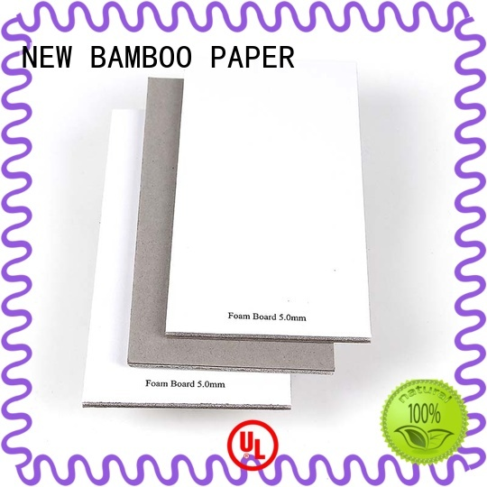 NEW BAMBOO PAPER sponge foam board paper from manufacturer for stationery