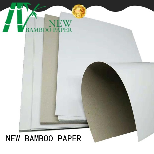 NEW BAMBOO PAPER board what is duplex board order now for box packaging