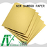 metallic paper sheets grey for bread packaging NEW BAMBOO PAPER