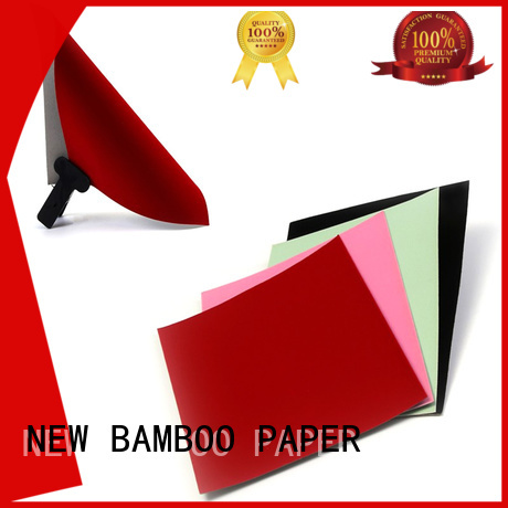 cardboard flocked paper wholesale supplier for gift box binding NEW BAMBOO PAPER