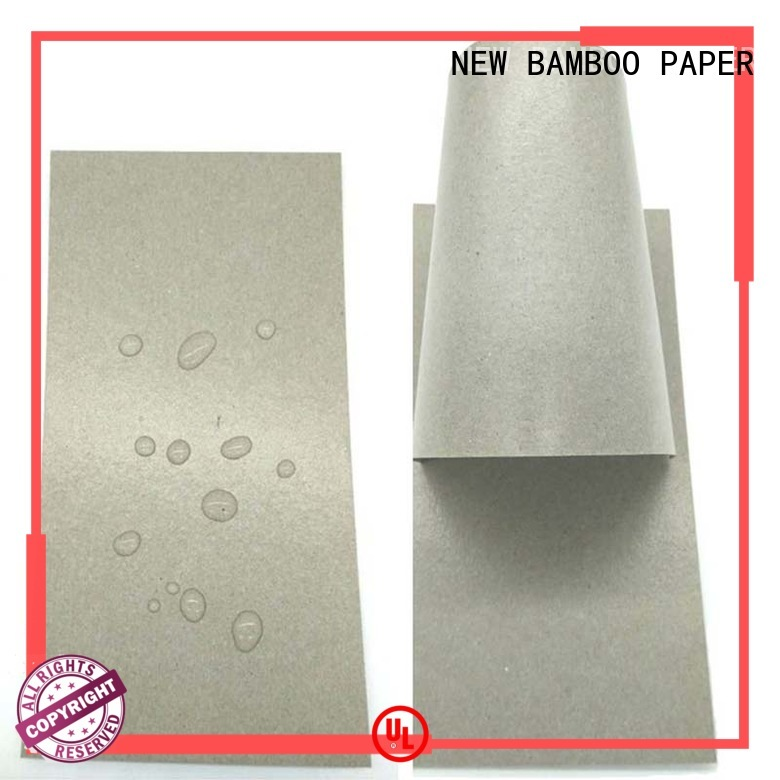 NEW BAMBOO PAPER moisture pe coated paper free design for frozen food