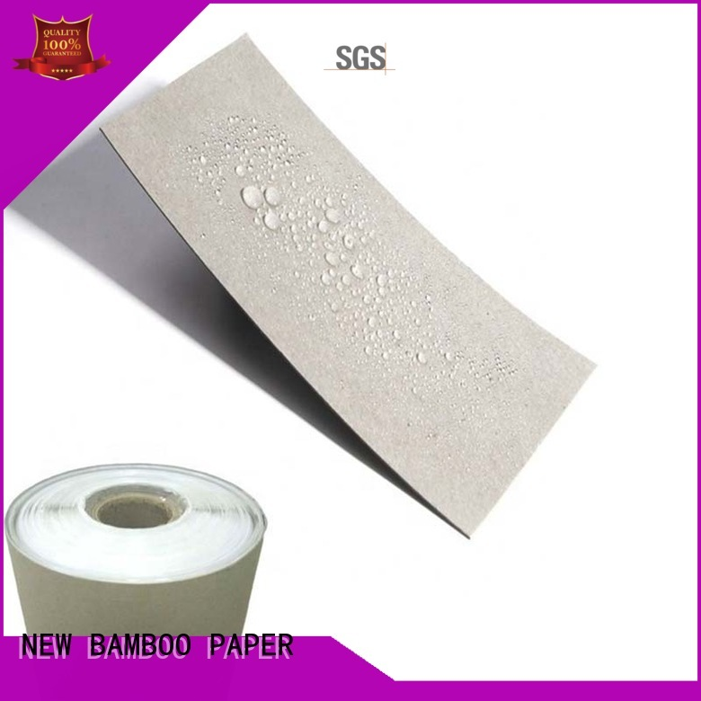 Supply Single Side / Double sides PE Coated Grey Paper Board