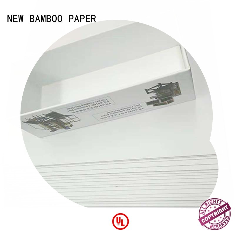 packaging coated duplex board for box packaging NEW BAMBOO PAPER