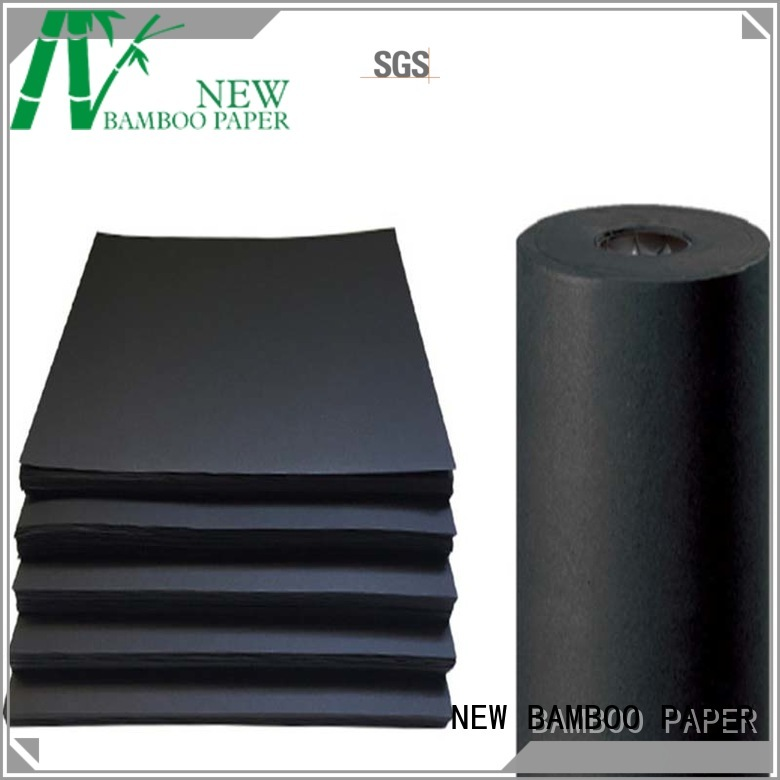 thick black cardboard size for shopping bag NEW BAMBOO PAPER