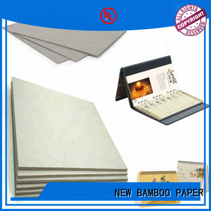 NEW BAMBOO PAPER quality grey board thickness at discount for book covers