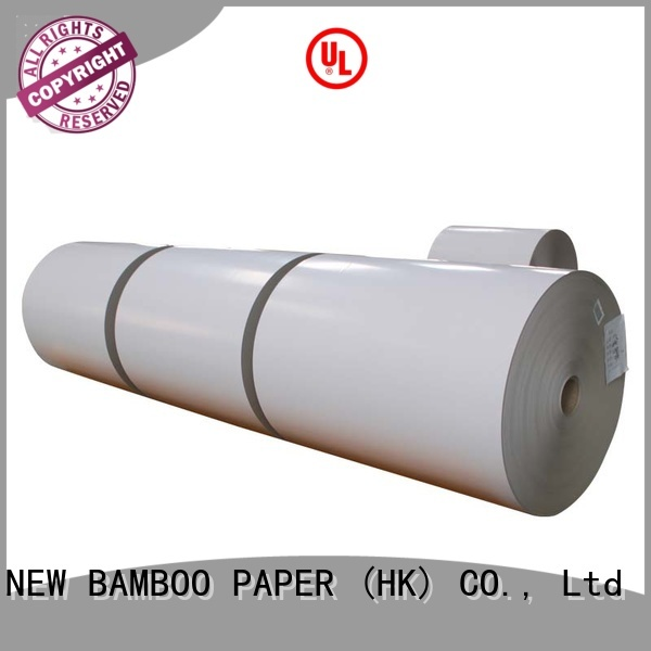 NEW BAMBOO PAPER useful duplex board gsm bulk production for printing industry