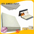 NEW BAMBOO PAPER high-quality grey cardboard desk for book covers
