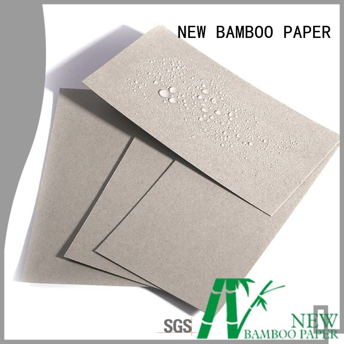 NEW BAMBOO PAPER grey pe coated paper roll price factory price for packaging