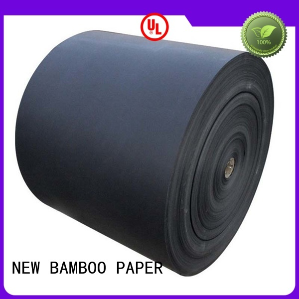 NEW BAMBOO PAPER new-arrival black paper sheet supplier for gift box
