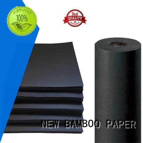 NEW BAMBOO PAPER industry-leading black backing board black for hang tag