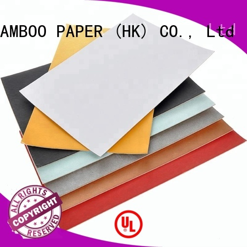 NEW BAMBOO PAPER boxes Grey board with white back factory price for shoe boxes