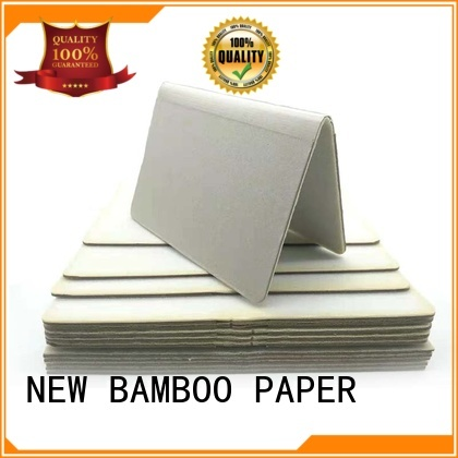 NEW BAMBOO PAPER nice white foam board for folder covers