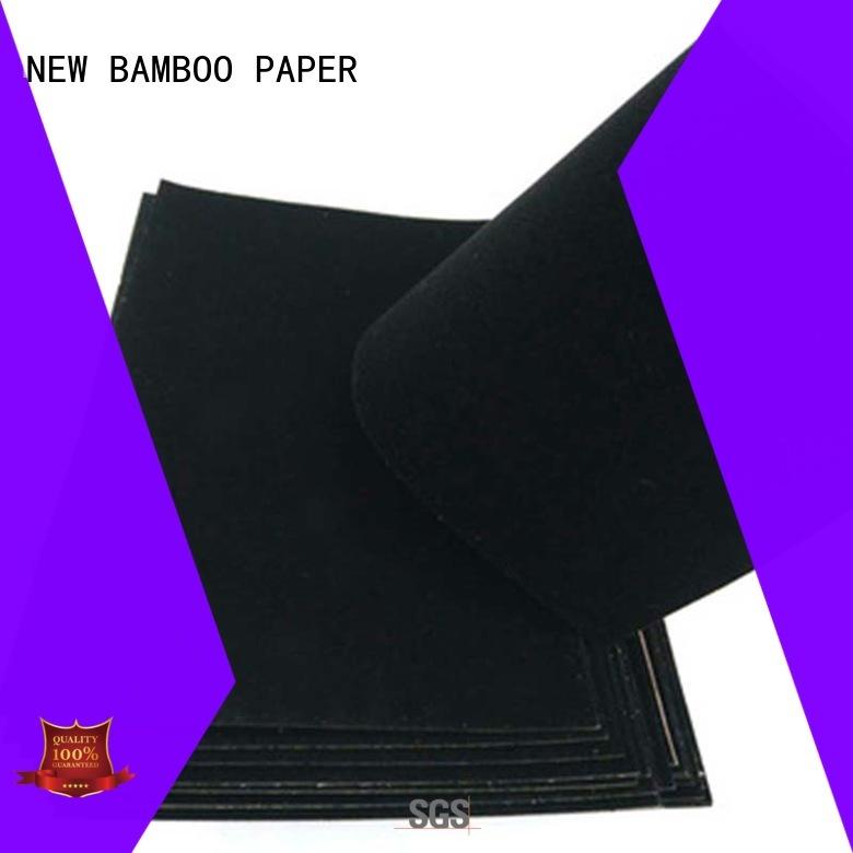 fantastic velvet cardboard sheets flocked supplier for packaging