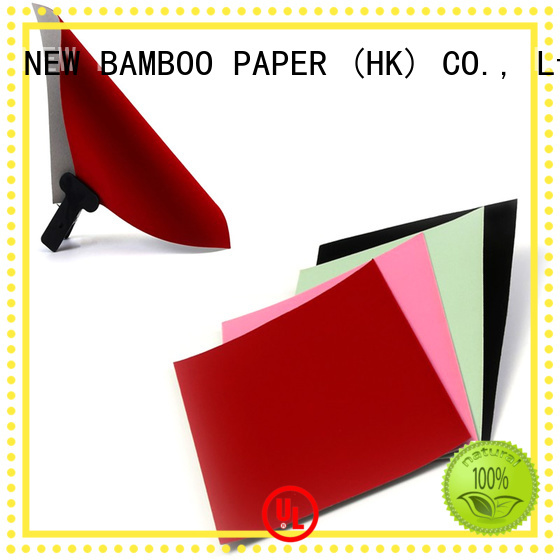 NEW BAMBOO PAPER usage velvet cardboard sheets  supply